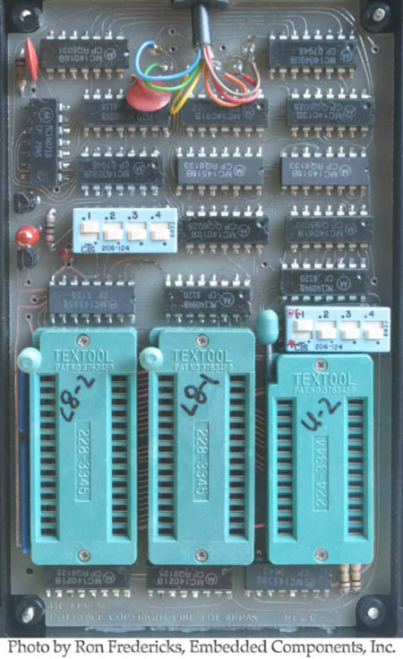 HHP-16K Circuit Board (top view, small size)