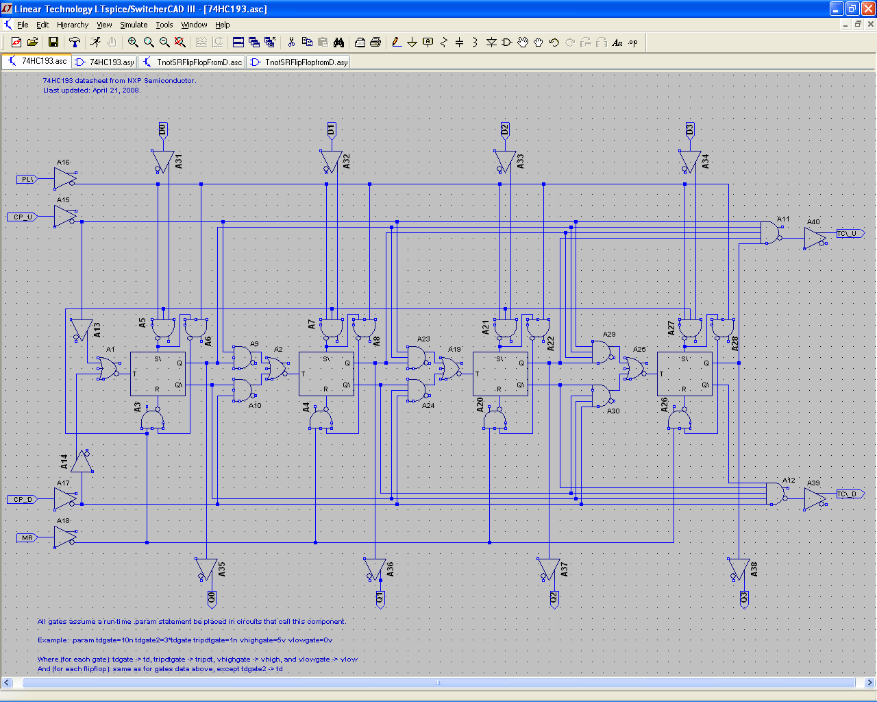 74hc193 Circuit and Related Components - Large View